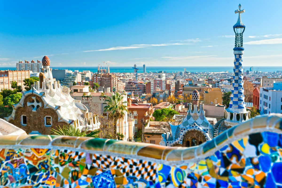Catalonia, Park Guell