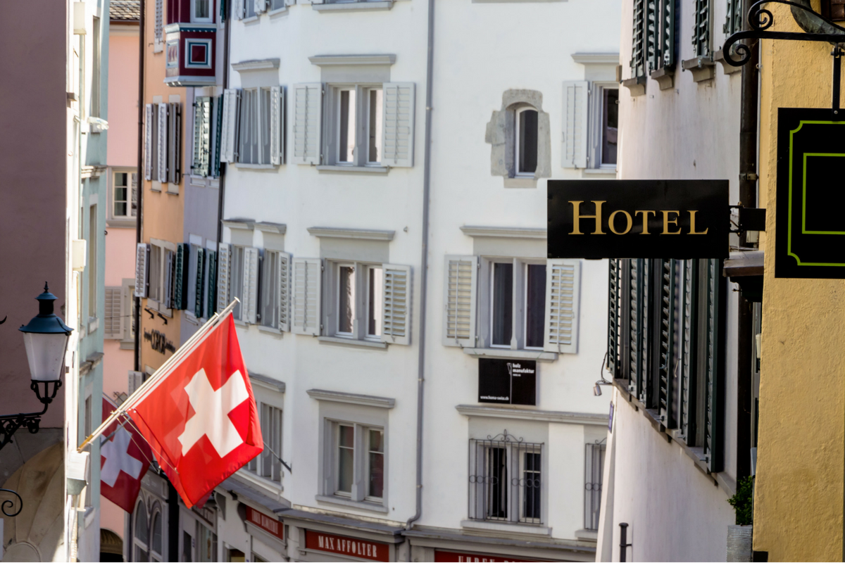 Swiss hospitality industry