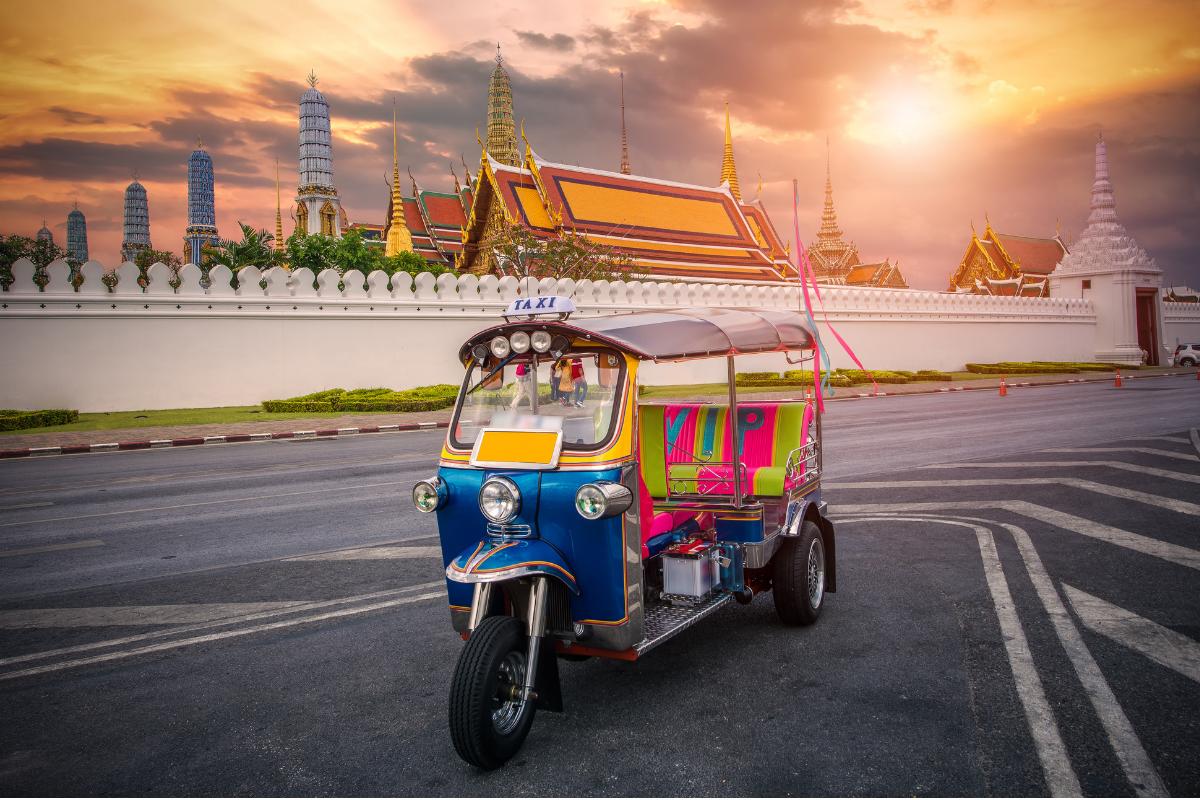 tuc tuc Thailand, Bangkok